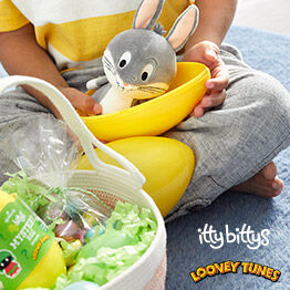 Bugs Bunny itty bittys® stuffed animal