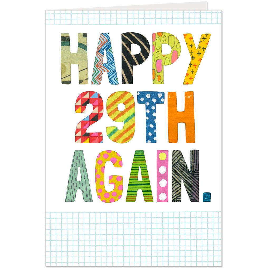 Happy 29th Birthday Again