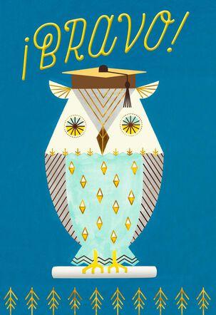 Wise Owl Spanish-Language Graduation Card