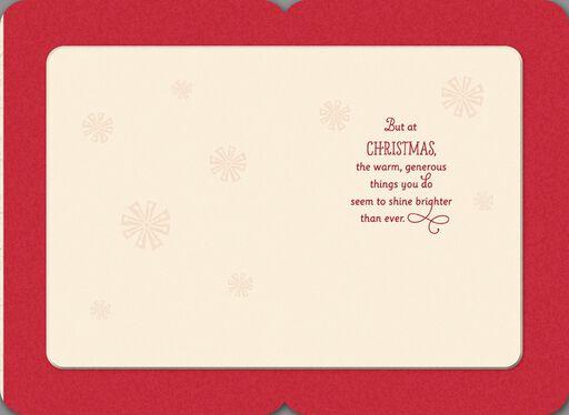 Loving Dad Christmas Tree Card,