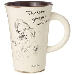 Three Generations Love Goes On Ceramic Mug, 13 oz., , large