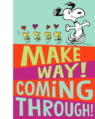 Peanuts® Snoopy and Woodstock Valentine's Day Card