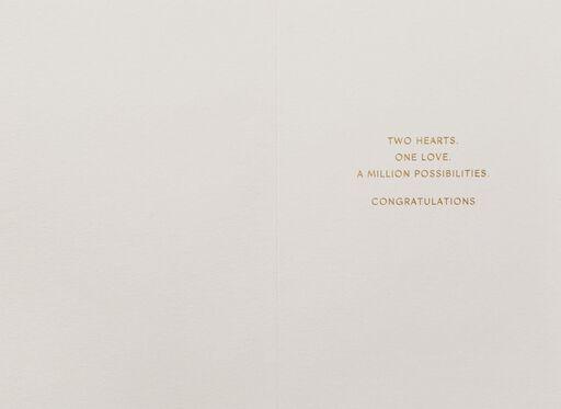 A Million Possibilities Wedding Card,