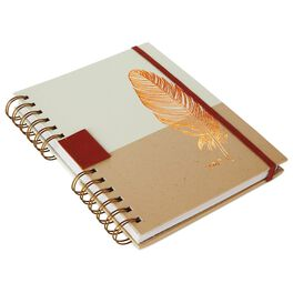 Natural Feather 2017 Weekly Planner, , large