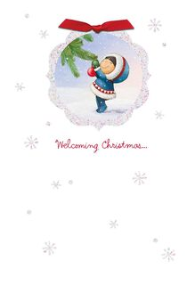 Wishing You Joy Christmas Card,