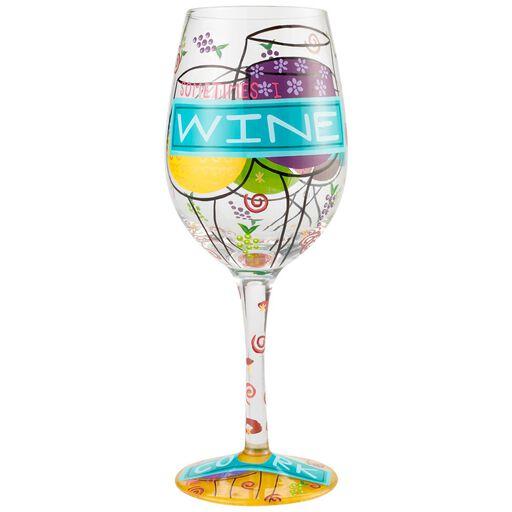 7b55cf353ff Lolita Sometimes I Wine Handpainted Wine Glass