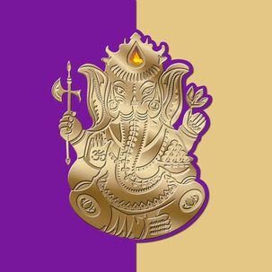 Ganesh Blank Card