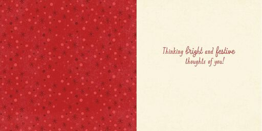 Feliz Navidad Christmas Song Card,