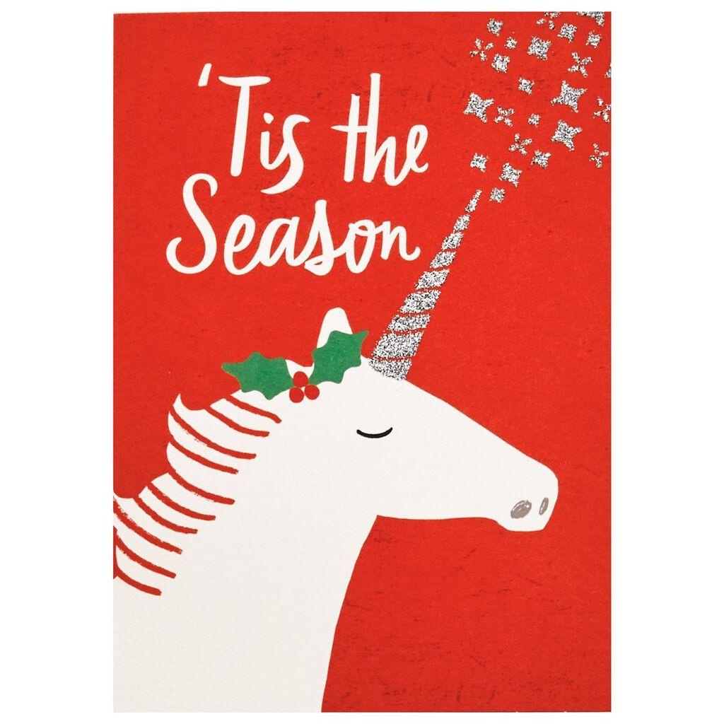 Merry Unicorn Christmas Cards, Box of 12 - Boxed Cards - Hallmark