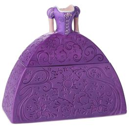 Tangled Rapunzel Dress-Shaped Treasure Box, , large