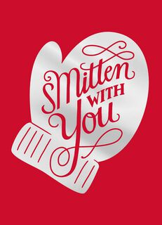 Smitten With You Christmas Card,