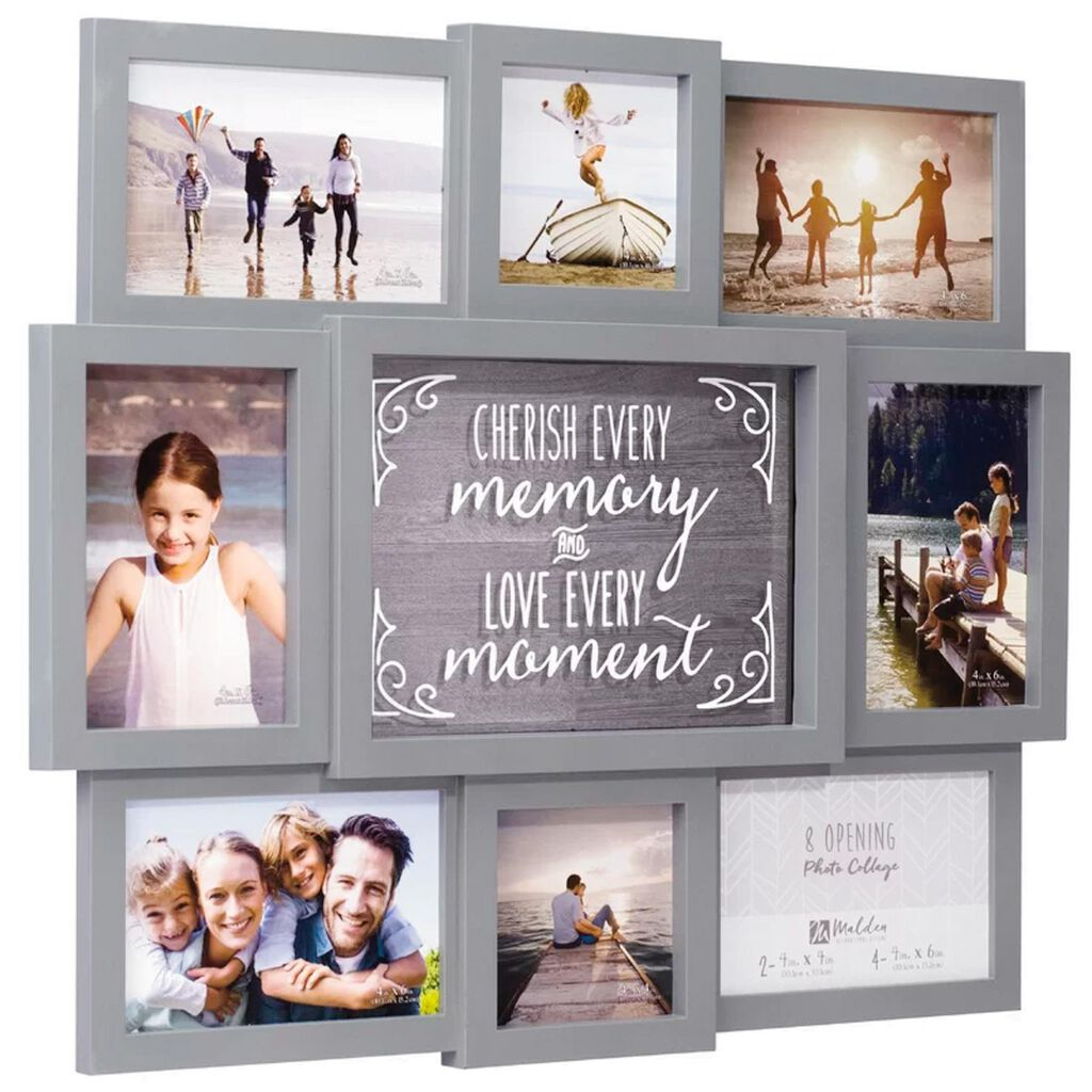 Malden Cherish Every Memory Photo Collage Picture Frame Picture