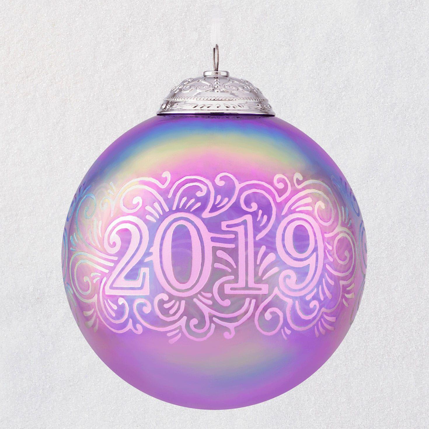 timeless design 79708 eaba6 2019 Christmas Commemorative Glass Ball Ornament