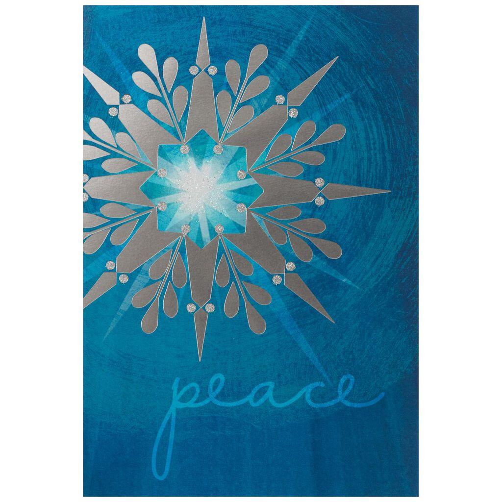 UNICEF Peace Star Christmas Cards, Box of 12 - Boxed Cards - Hallmark