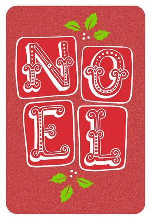 Noel Blessings Christmas Card
