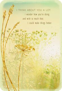 A Wish for Sunnier Days Ahead Thinking of You Card,
