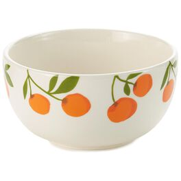 Oranges on White Cereal Bowl, , large