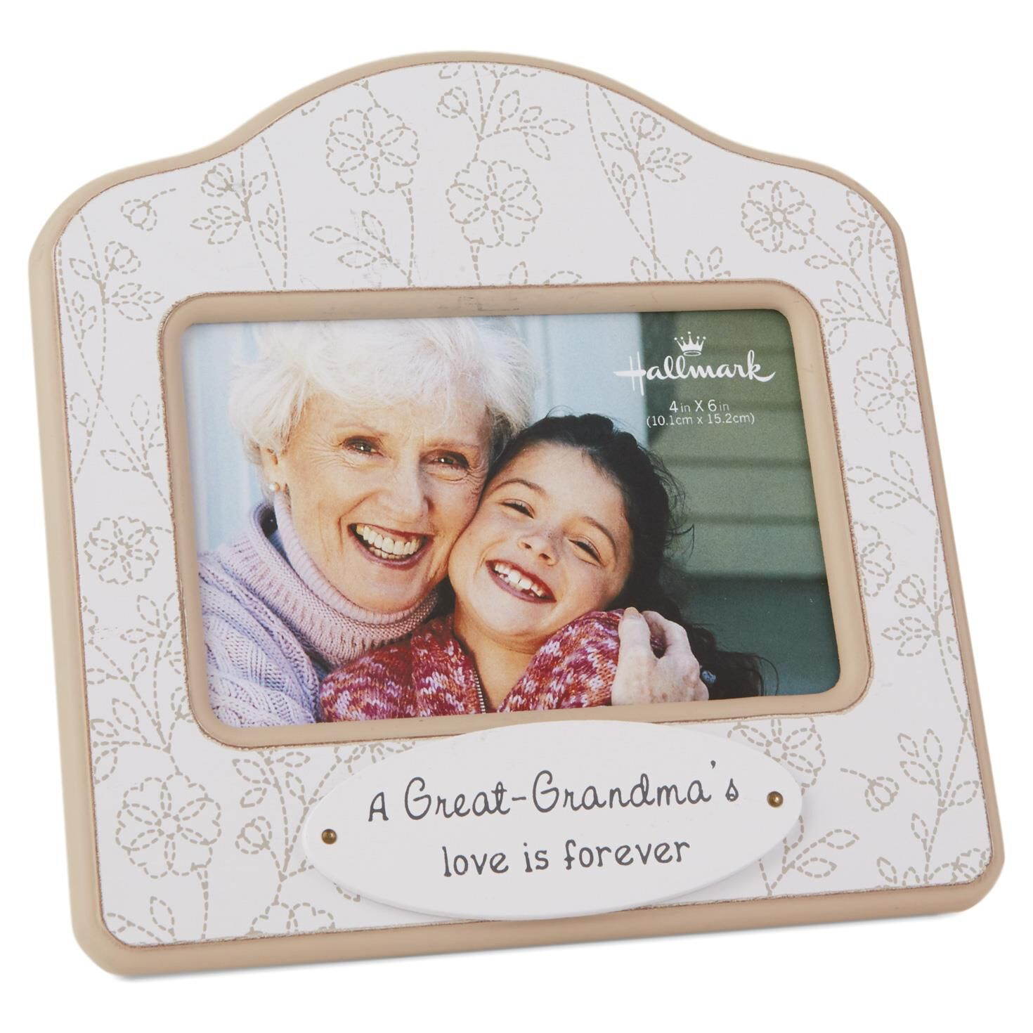 great grandma floral wood photo frame 4x6 picture frames hallmark