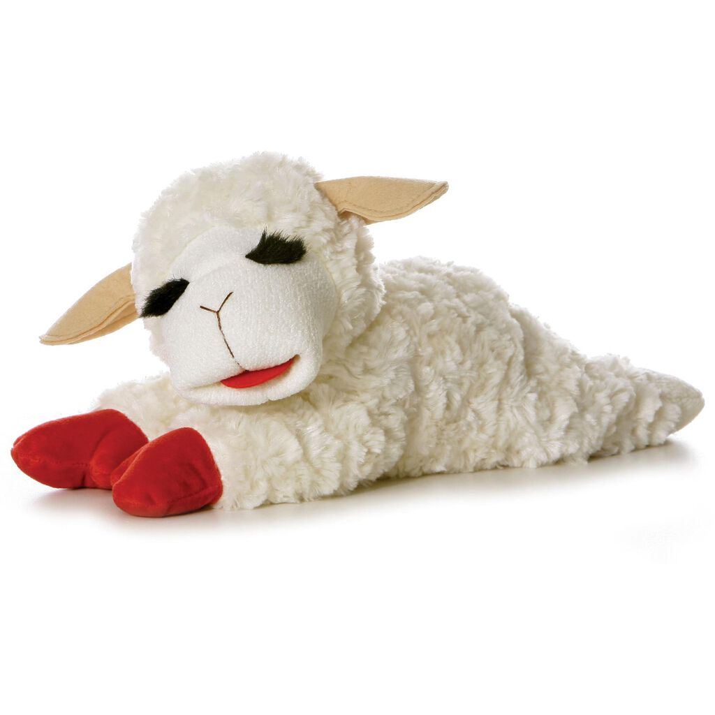 Plush Lamb Chop Stuffed Animal 14 Hallmark