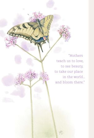 Marjolein Bastin Butterfly Sympathy Card for Mother