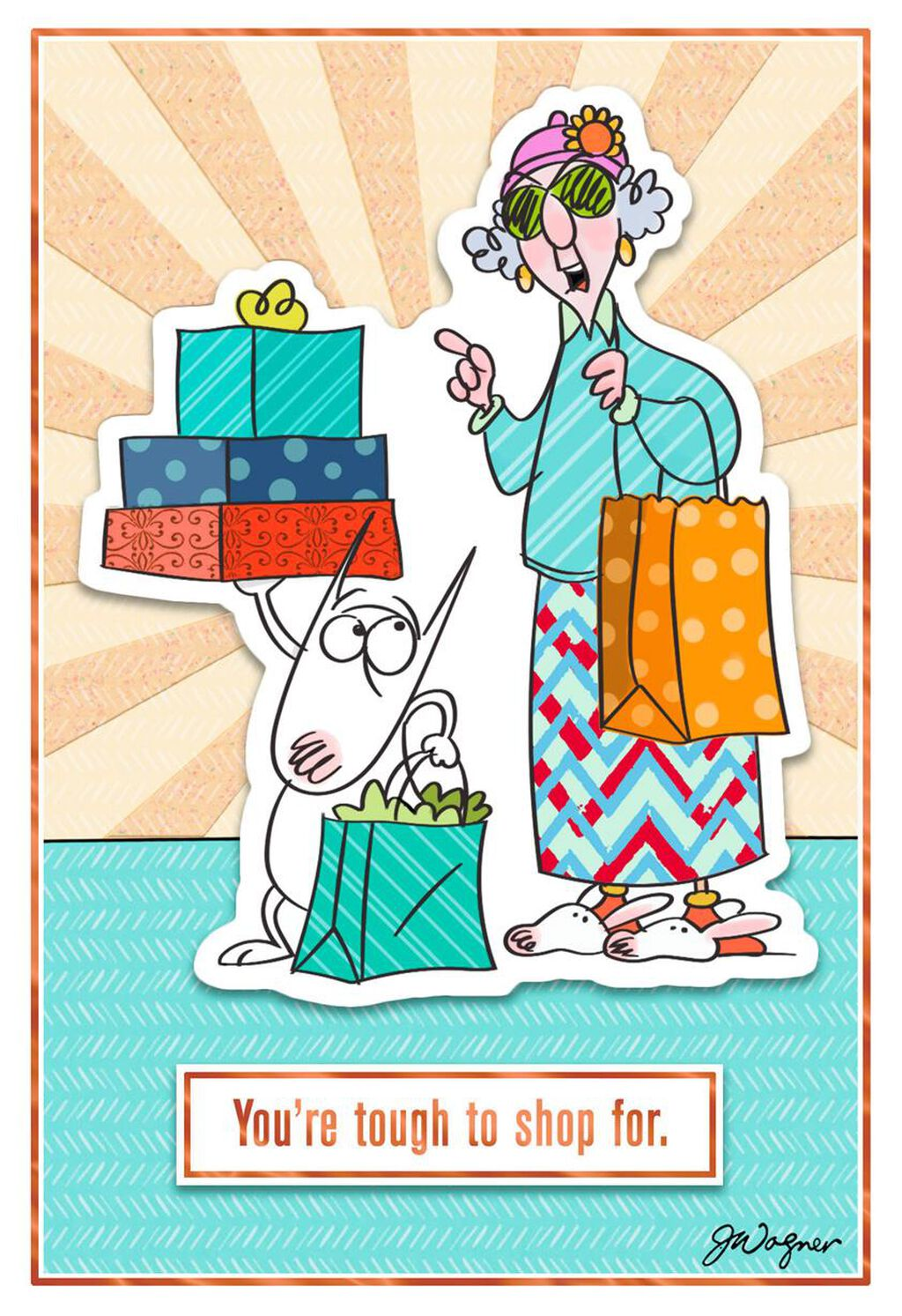 8ada7c1d381 Maxine™ You re Tough to Shop For Funny Birthday Card - Greeting Cards -  Hallmark