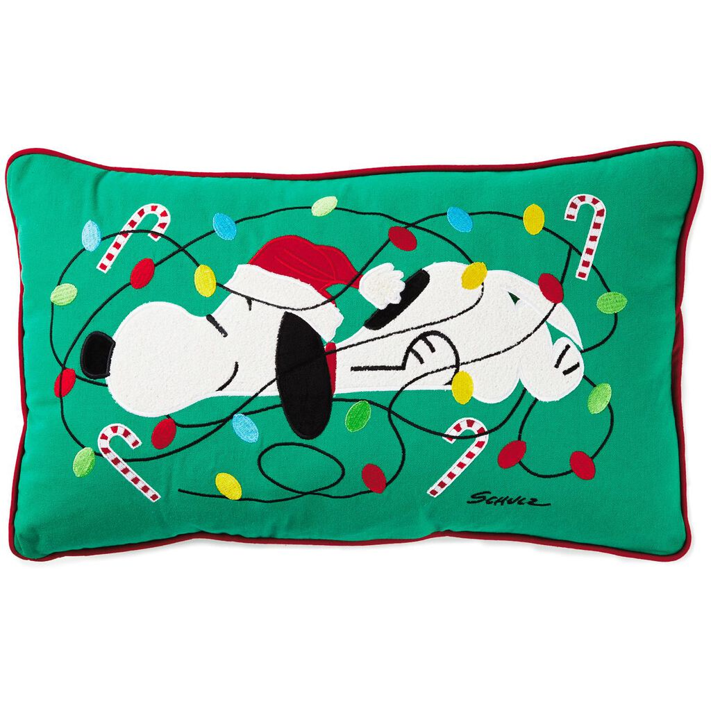 Peanuts® Snoopy Christmas Light-Up Pillow, 20\