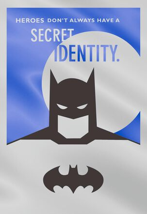 Secret Identity Batman™ Father's Day Card