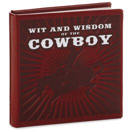 Wit and Wisdom of the Cowboy Book, , large