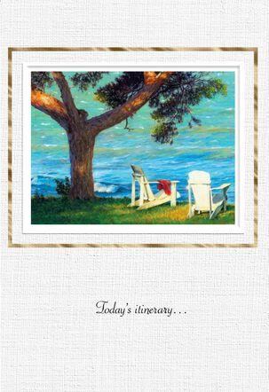 Ocean View Retirement Card
