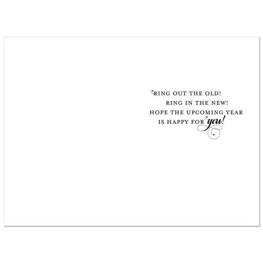 ring in the new year cards pack of 6