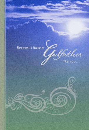 Blessed by You, Godfather Birthday Card