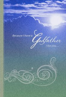 Blessed by You, Godfather Birthday Card,