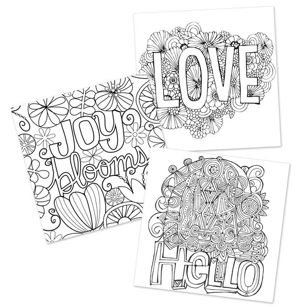 The Art of Hallmark Coloring Book for Adults - Coloring Books ...