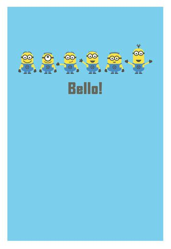 Despicable Me Minions Silly Birthday Card Greeting Cards Hallmark