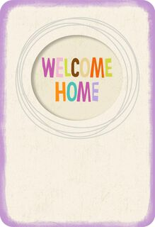 Welcome Mat New Home Card,