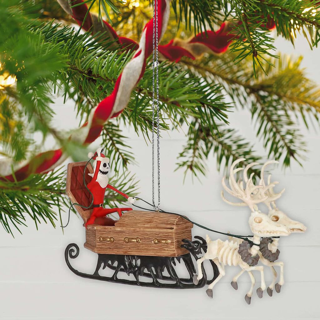 Tim Burton S The Nightmare Before Christmas Here Comes Sandy Claws Ornament