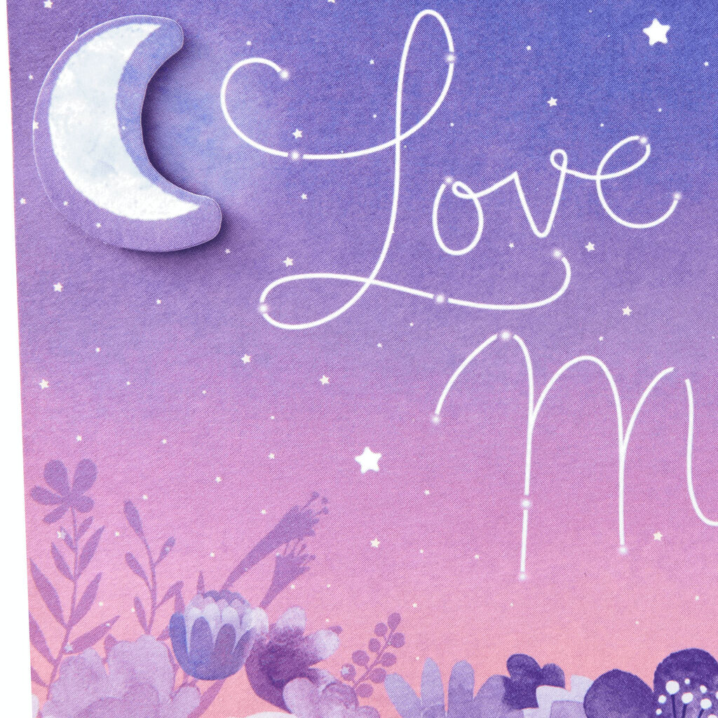 f0a350f318 Love You To the Moon and Back Pop Up Mother's Day Card - Greeting ...