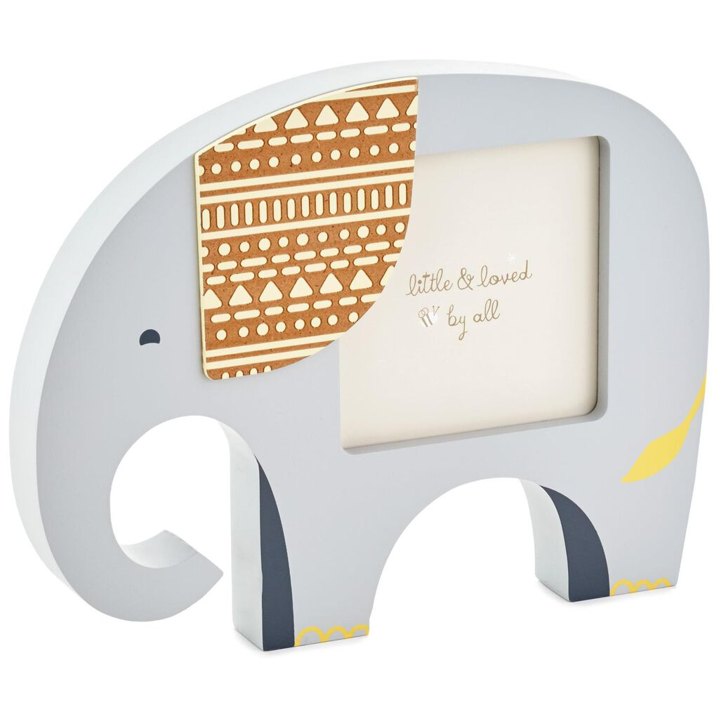 Elephant Picture Frame, 4x4