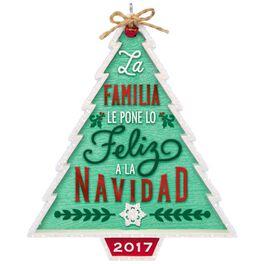 Nuestra Familia...Nuestra Navidad Ornament, , large