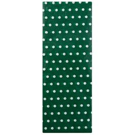 White Dots on Green Tissue Paper, 6 Sheets, , large