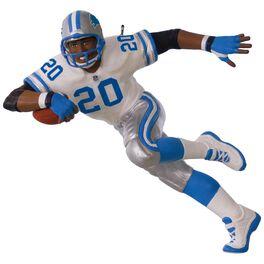 NFL Detroit Lions Barry Sanders Ornament, , large