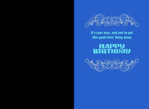 Good Living Happy Birthday Card,