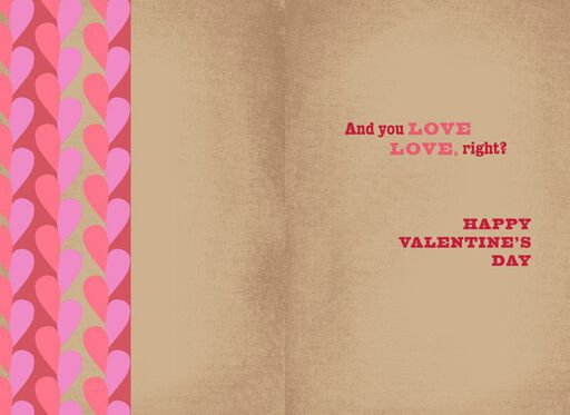 Distorted Hearts Valentine's Day Card,