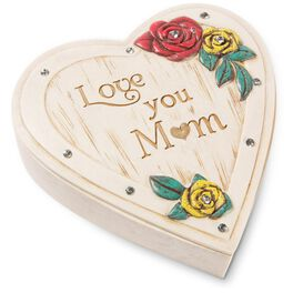 Love You Mom Jewelry Box, , large