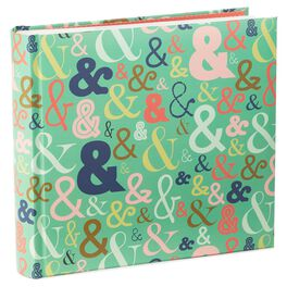 Multi-Colored Ampersand Album, , large