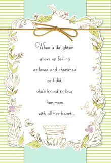With All My Heart Mother's Day Card,