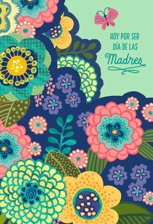 Love and Happiness Pop-Up Musical Spanish-Language Mother's Day Card