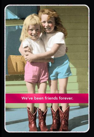 Friends Forever Friendship Card