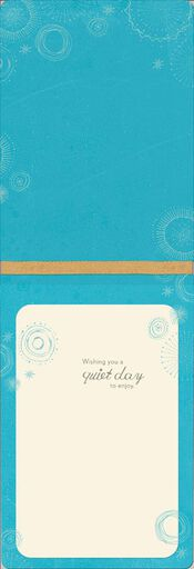 Simple Peace Thinking of You Card,