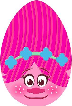 DreamWorks Trolls Poppy Egg Easter Card for Kid